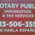 Notary Public, Tax & Immigration