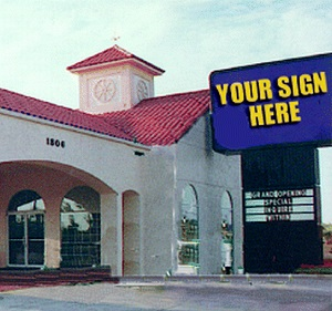trav ad signs, custom signs, custom signage