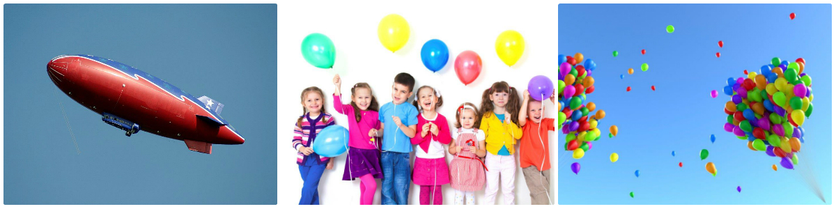 helium balloon rental