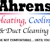 Ahrens Heating, Cooling & Duct Cleaning