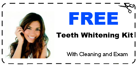 free seeth whitening