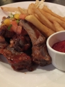 Mango short ribs with fries