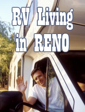 RV lifestyle at Reno RV park