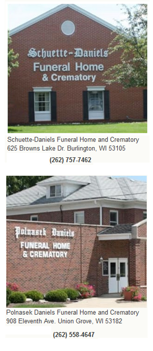 Funeral Home Union Grove Wisconsin