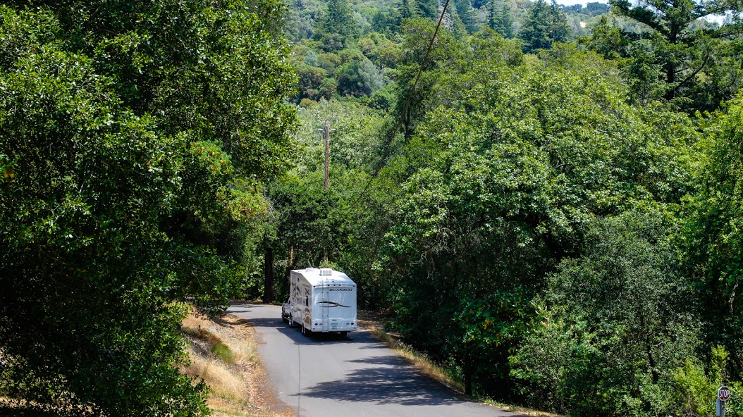 Russian River RV Campground, Cloverdale CA