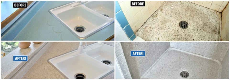Bathroom and Kitchen Refinishing - Miracle Method Surface ...