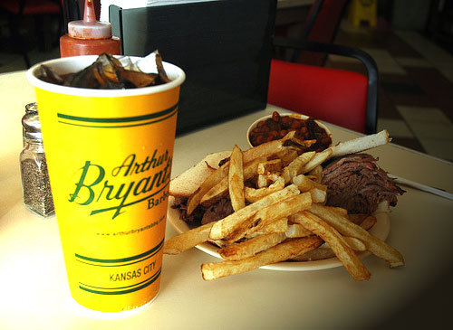 Arthur Bryant's Barbeque, Kansas City MO