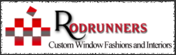 Rod Runners Custom Window Fashions Logo