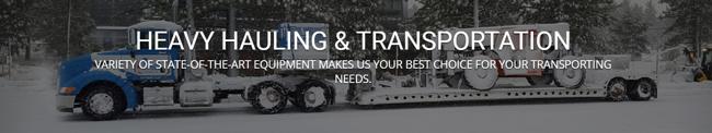 trucking hauling