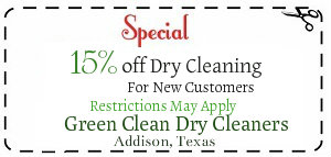 dry cleaner specials