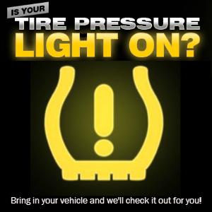 Free Tire Pressure Check in Chico