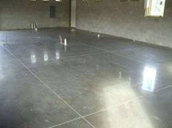 A & A Cleaning, Inc. polished concrete floor cleaning service