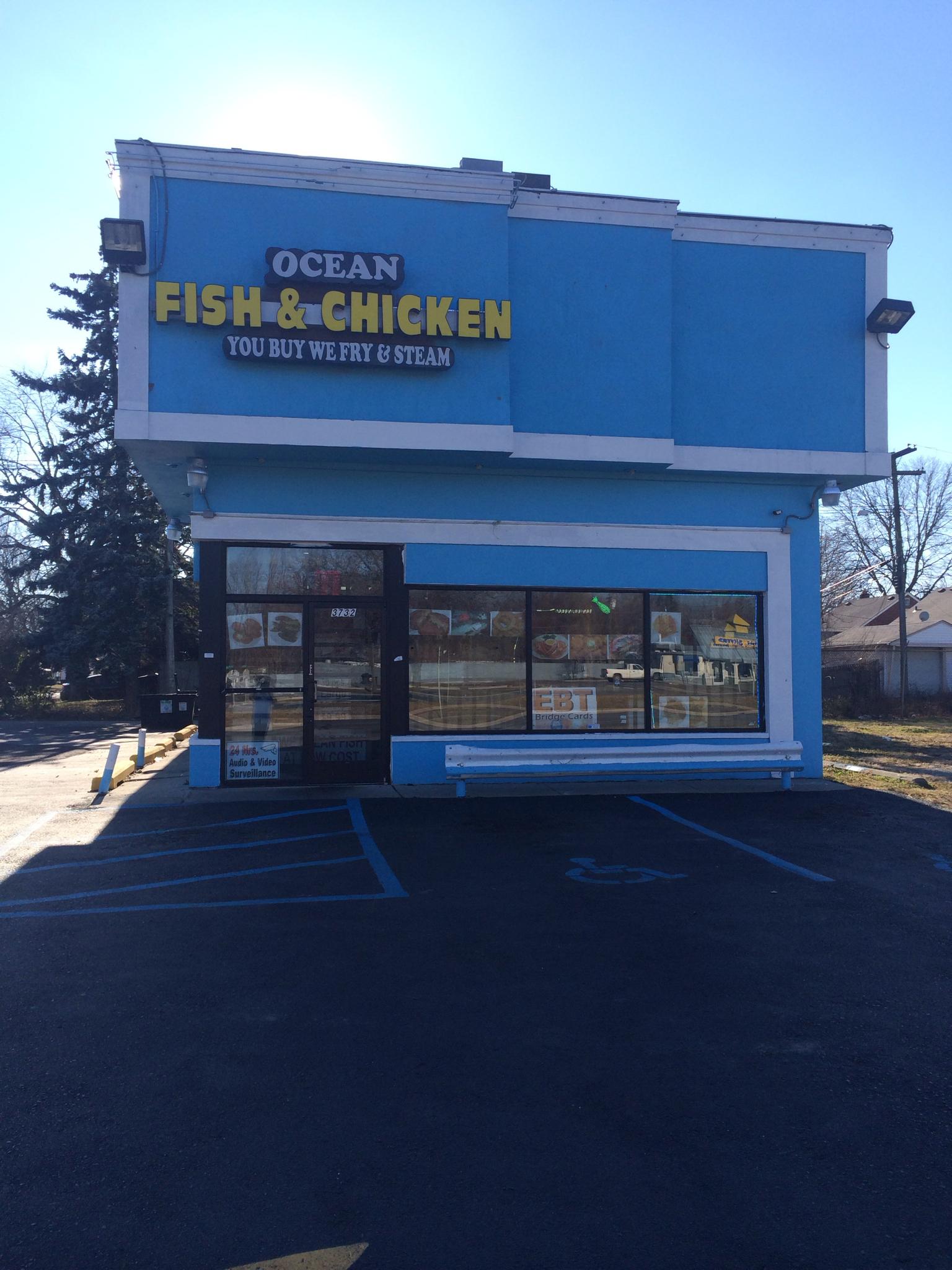 Ocean fish seafood detroit mi 48234 for Detroit fish market