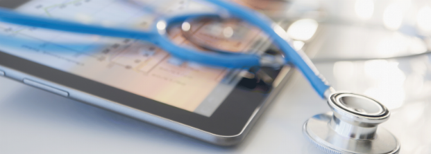 stethoscope and ipad