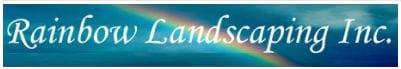 rainbow landscaping logo
