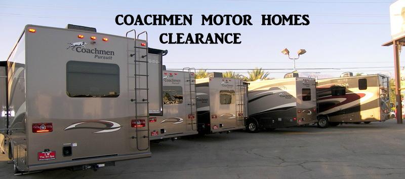 Coachmen Motor Home Sale
