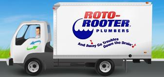 Roto-Rooter Van