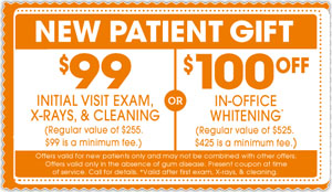 Main street Dental Care New Patient Coupon
