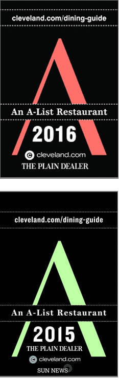 A List Restaurants In Downtown Cleveland