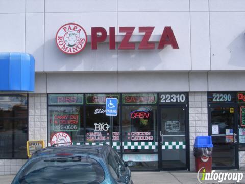 Papa Romano's Pizza & Mr Pita, Farmington Hills MI