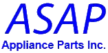 ASAP Appliance Parts Logo