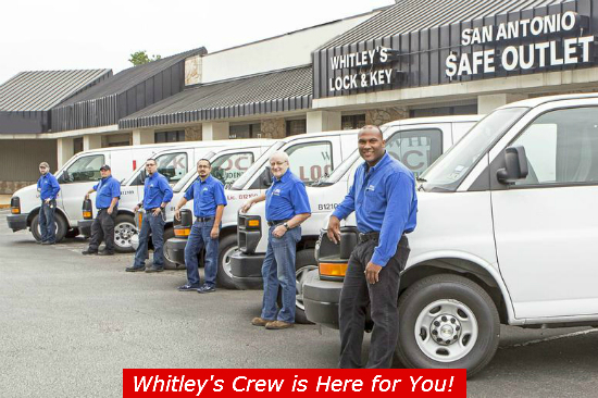 locksmith san antonio whitley's vans