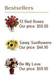 best selling flower arrangements