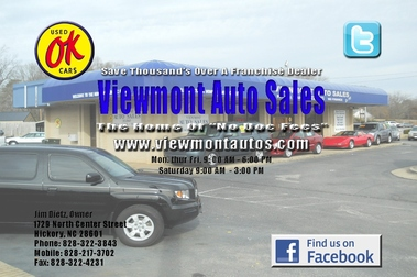 Viewmont Auto Sales Inc, Hickory NC