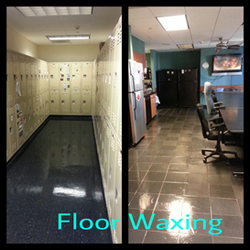 Touch of Anointing Floor waxing