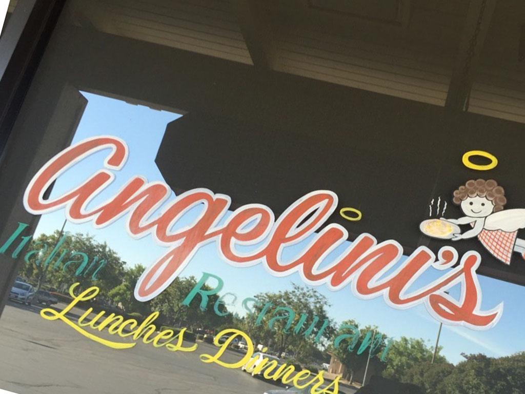 Angelini's Italian Restaurant, Turlock CA