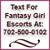 Fantasy Girl Escorts In Vegas