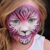 A Face Painting Mom