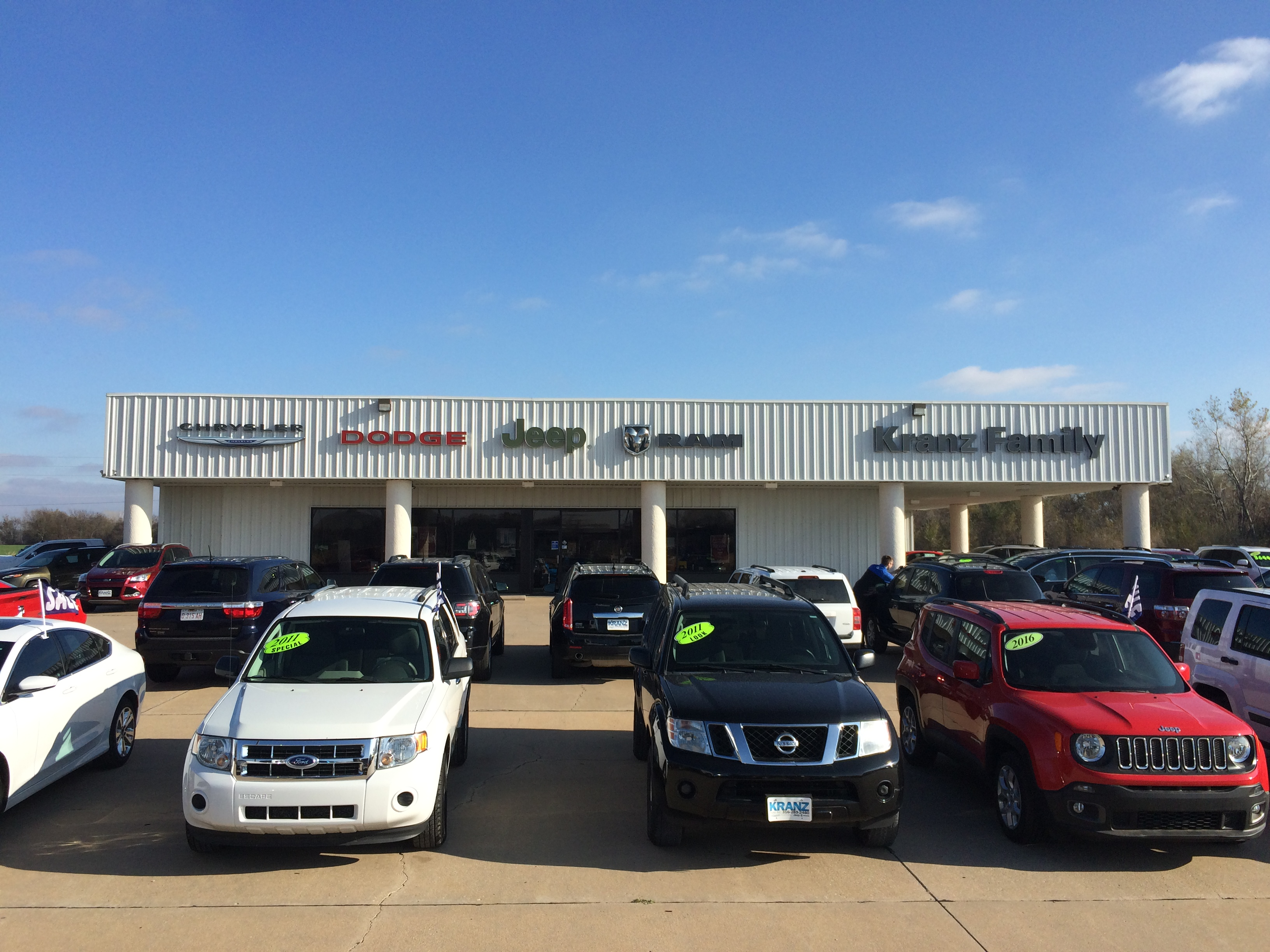 Kranz Family Chrysler Jeep Dodge Ram, Newton KS