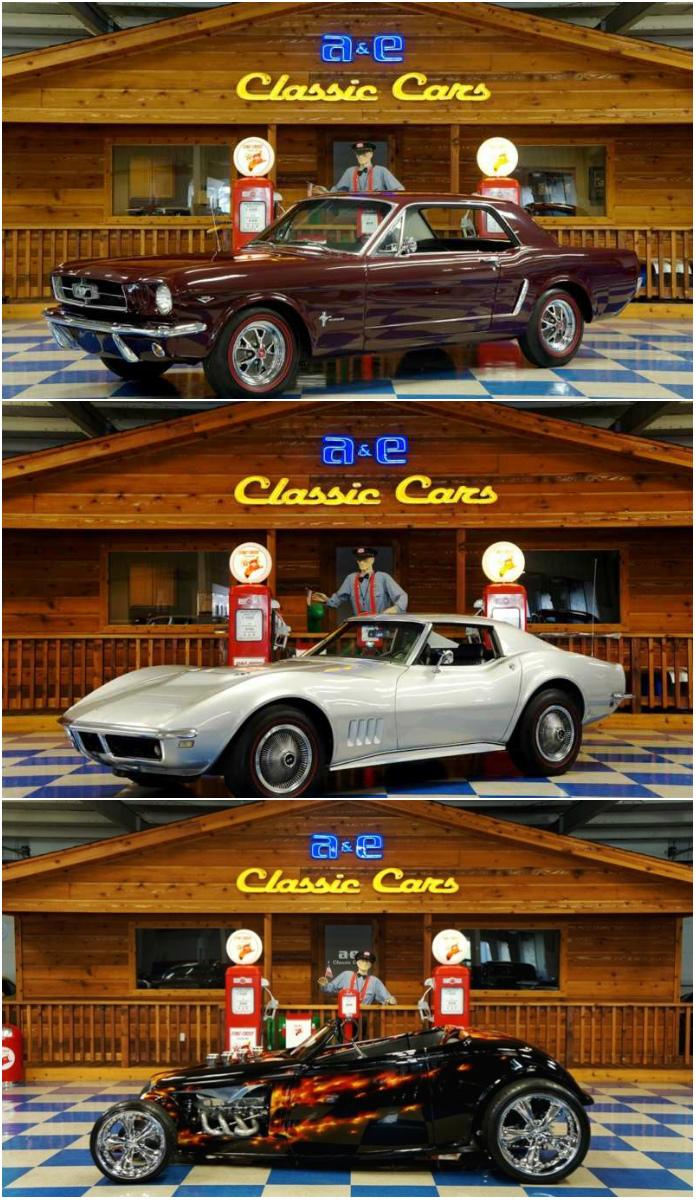 Classic Car Dealer - A&E Classic Cars - New Braunfels - TX