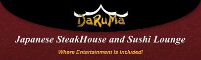 Daruma Japanese Steakhouse, Sarasota FL