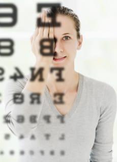 dry eye exam