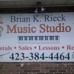 Brian K Rieck Music Studio