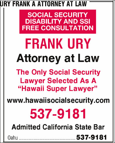 Ury Frank A Attorney At Law