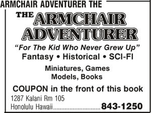 The Armchair Adventurer