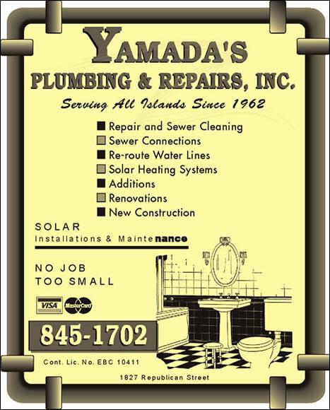Yamada's Plumbing & Repair