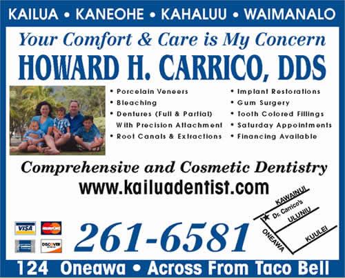 Carrico Howard H III DDS LLC