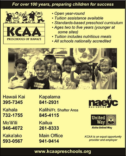 KCAA Preschools of Hawaii