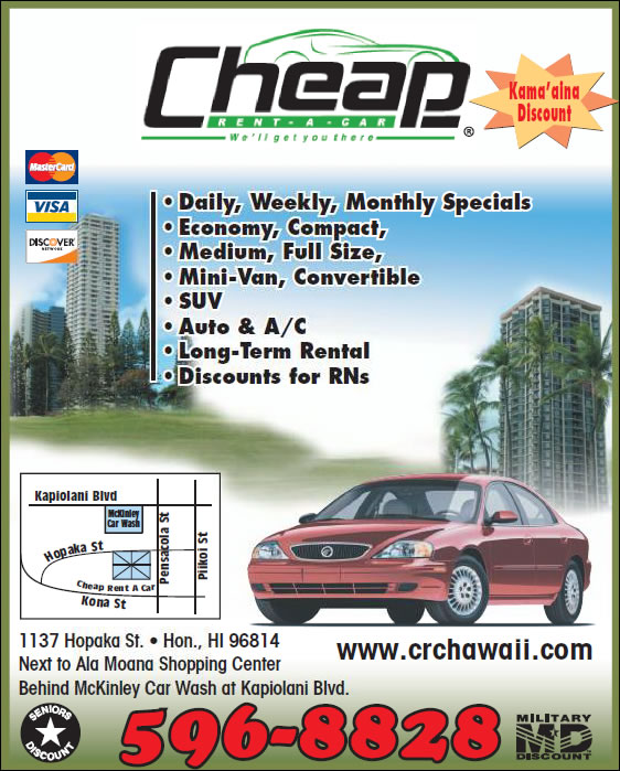 Cheap Rent A Car