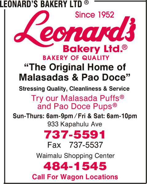 Leonard's Bakery Ltd