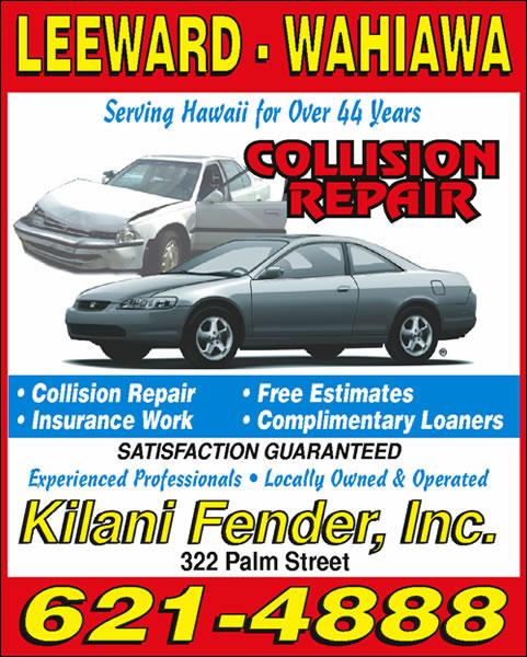 Kilani Fender Inc