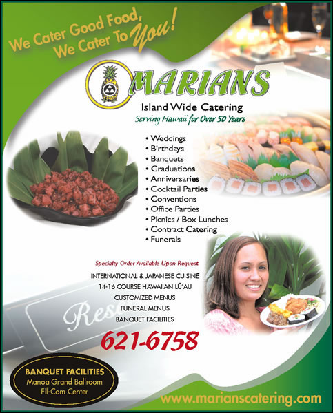 Marians Island Wide Catering