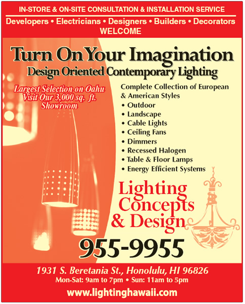 Lighting Concepts And Design