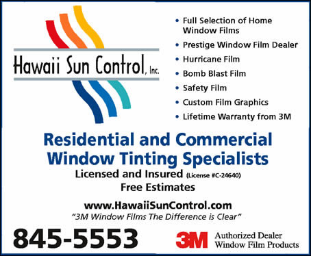 Hawaii Sun Control Inc