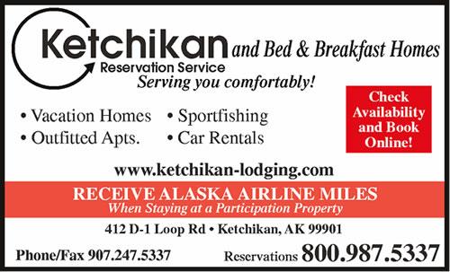 Ketchikan Reservation Service Bed & Breakfast Lodging