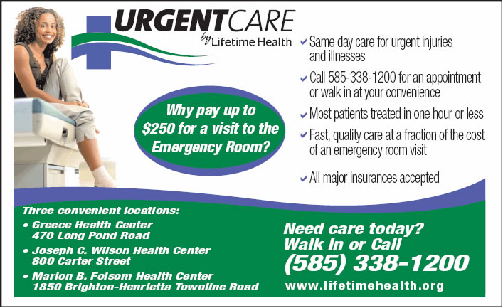 Urgent Care By Lifetime Health